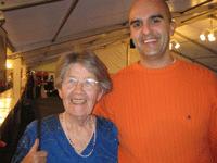 Leon Flatz i Hanne Marquardt